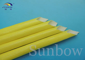 Insulation Colorful Acrylic Coated Fiberglass Sleeving For Class F Motors