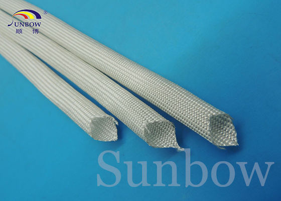 High Temp Thermo Fiberglass Insulation Sleeving 0.5mm ~ 30.0mm