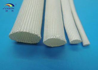 High Temperature Heat Resistant Uncoated Silicone Fiberglass Sleeving