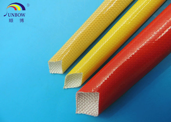 ROHS approved waterproof oil proof  fiberglass Polyurethane sleeving tube