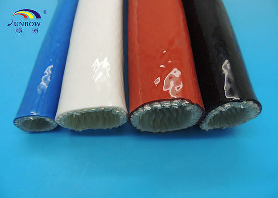 Heat-resistant Silicon Coated Fireproof Performance Glass Fabric Sleeve Eco-friendly