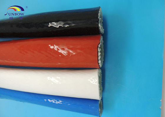 Flexible High Temperature Resistant Silicone Fiberglass Sleeves Professional Manufacturer