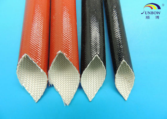 Black Expandable Fiberglass Braided Sleeving with Non-alkali Fiberglass Yarn