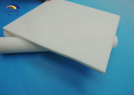 High Pressure PTFE Plate PTFE Products White and Black High Temperature Resistance