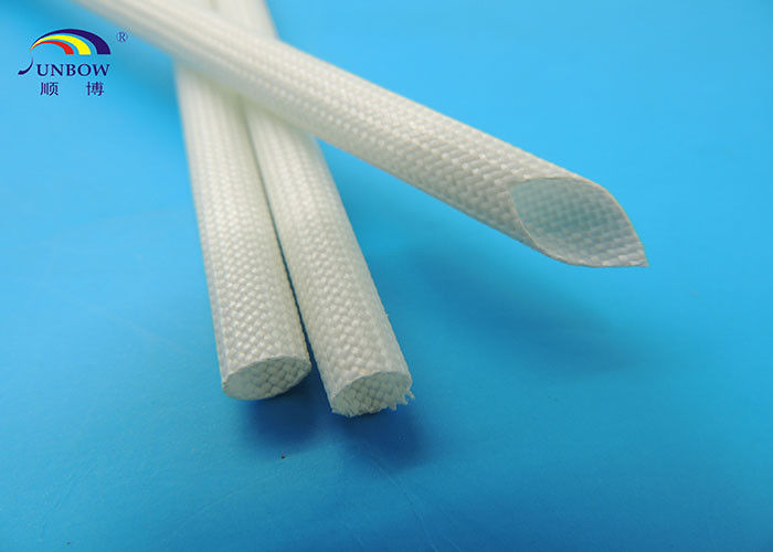 Fine 1200V White Color Silicone Resin Glassfiber Sleeving For Automotive Wiring Cloud Hisonuggs Outletorg