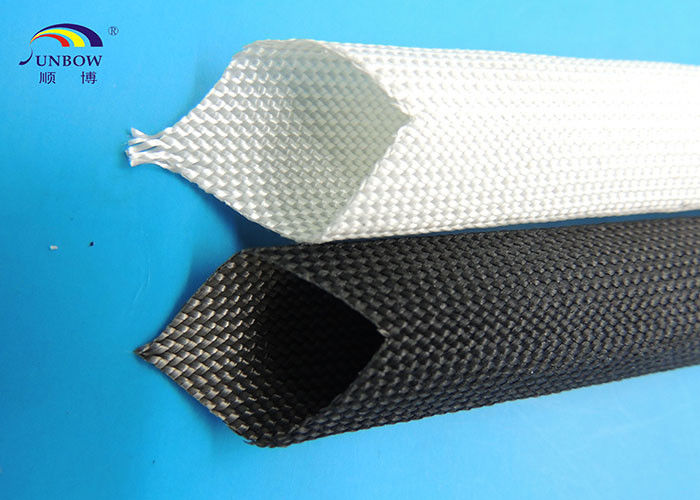 Cable Protection High Temperature Fiberglass Insulation Sleeving ...